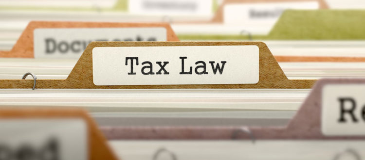 Tax Laws that can impact your business.